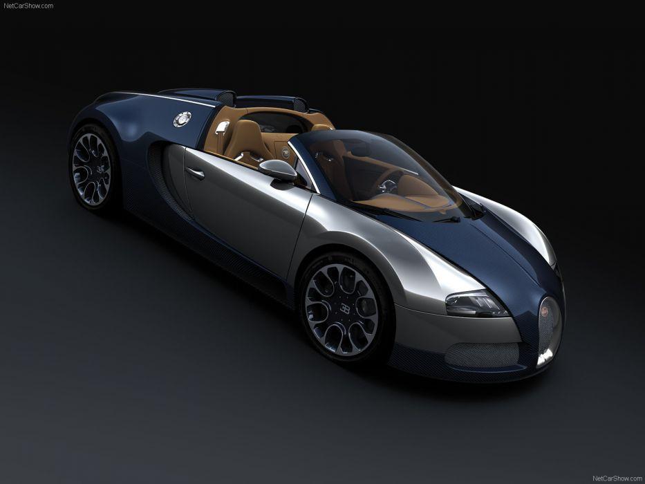 Bugatti Veyron Grand Sport Sang Bleu 2009 wallpaper