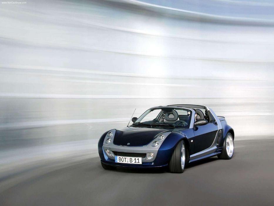 Brabus Smart Roadster 2003 wallpaper