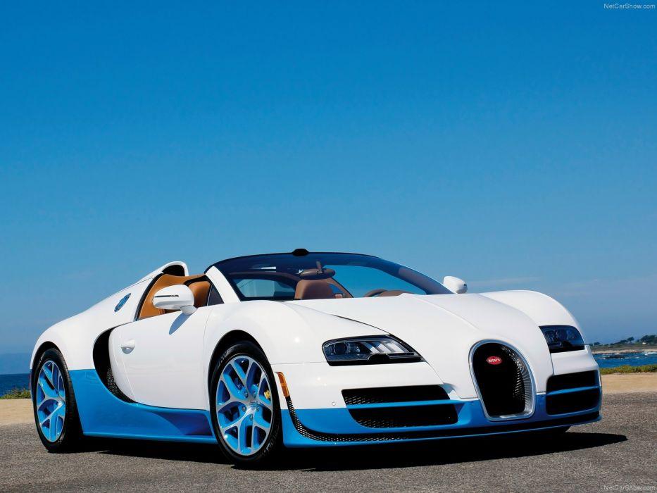 Bugatti Veyron Grand Sport Vitesse 2012 wallpaper