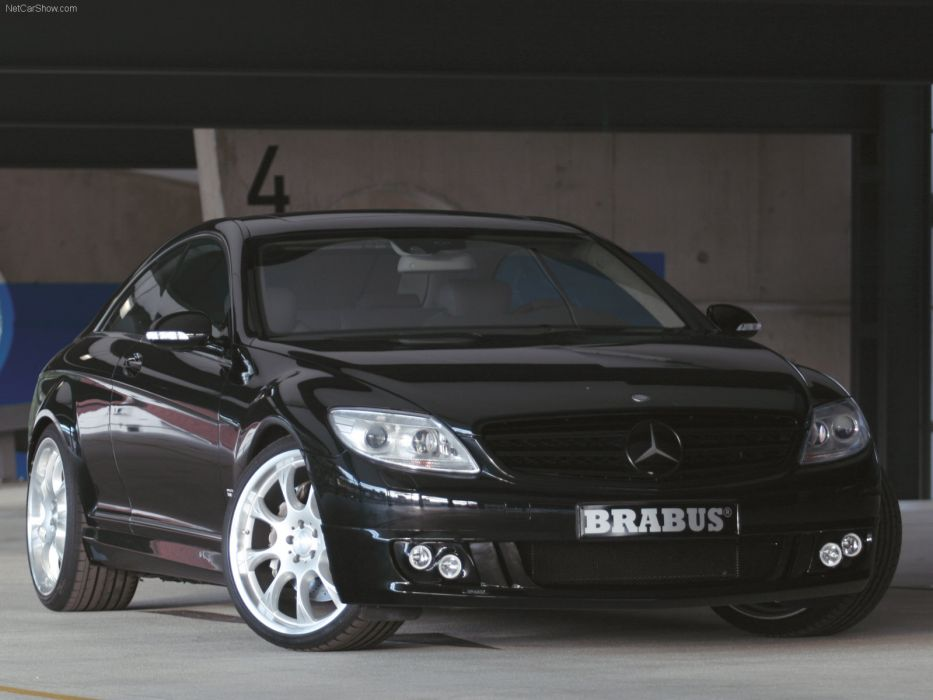 Brabus Mercedes-Benz CL Coupe 2007 wallpaper