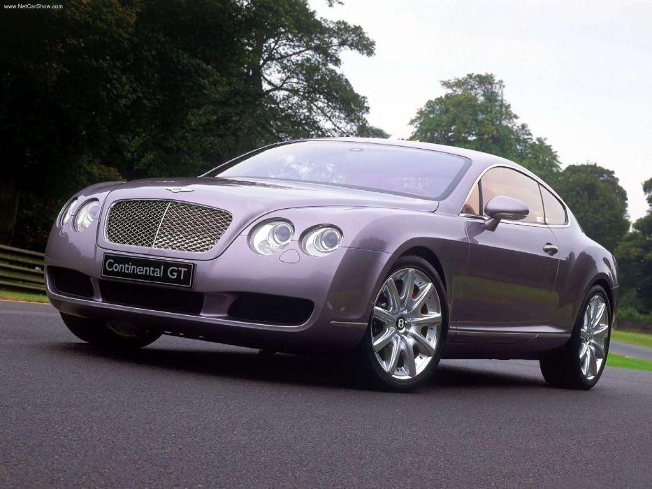 Bentley Continental GT Prototype 2002 wallpaper