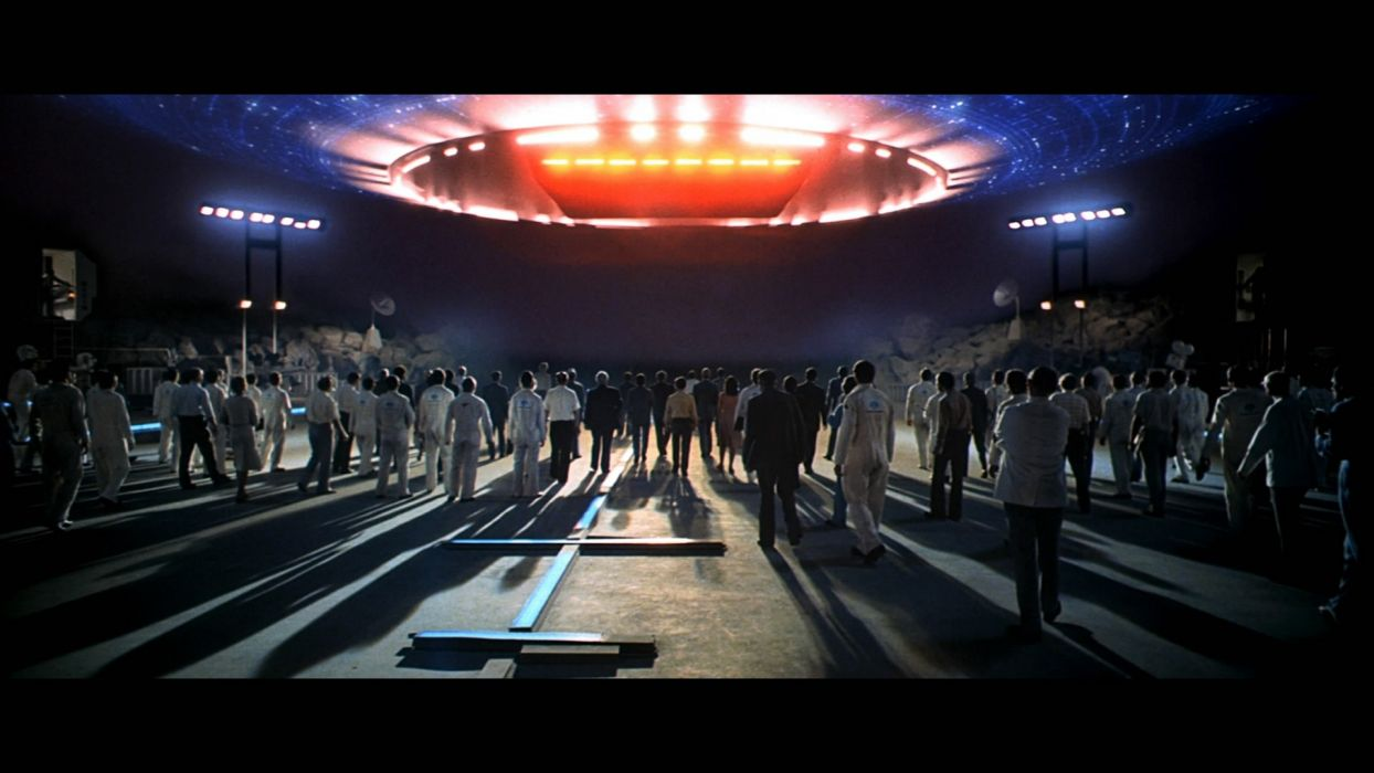 CLOSE ENCOUNTERS OF THE THIRD KIND sci-fi drama thriller   wy wallpaper