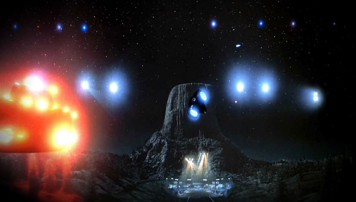 CLOSE ENCOUNTERS OF THE THIRD KIND sci-fi drama thriller spaceship   dw wallpaper