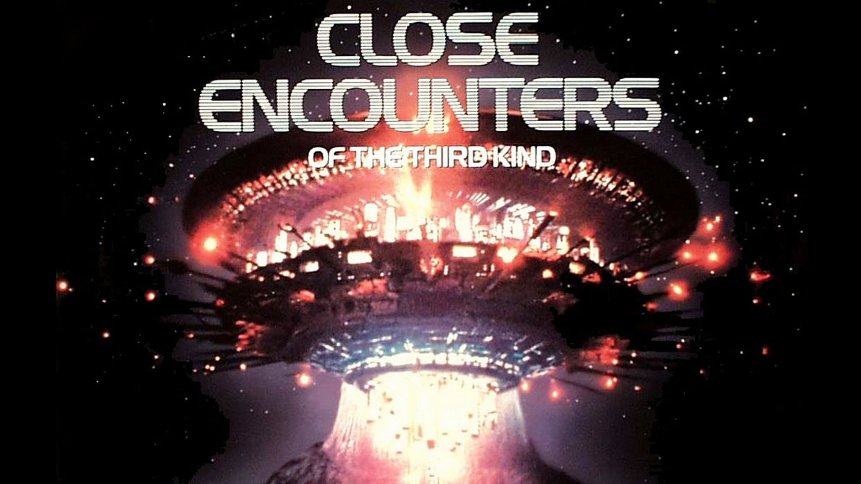CLOSE ENCOUNTERS OF THE THIRD KIND sci-fi drama thriller spaceship poster  e wallpaper