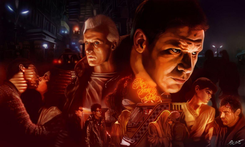 BLADE RUNNER drama sci-Fi thriller action  d wallpaper