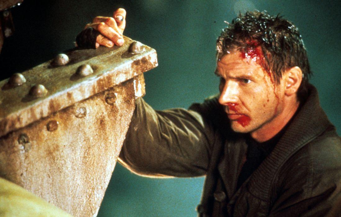 BLADE RUNNER drama sci-Fi thriller action blood   d wallpaper