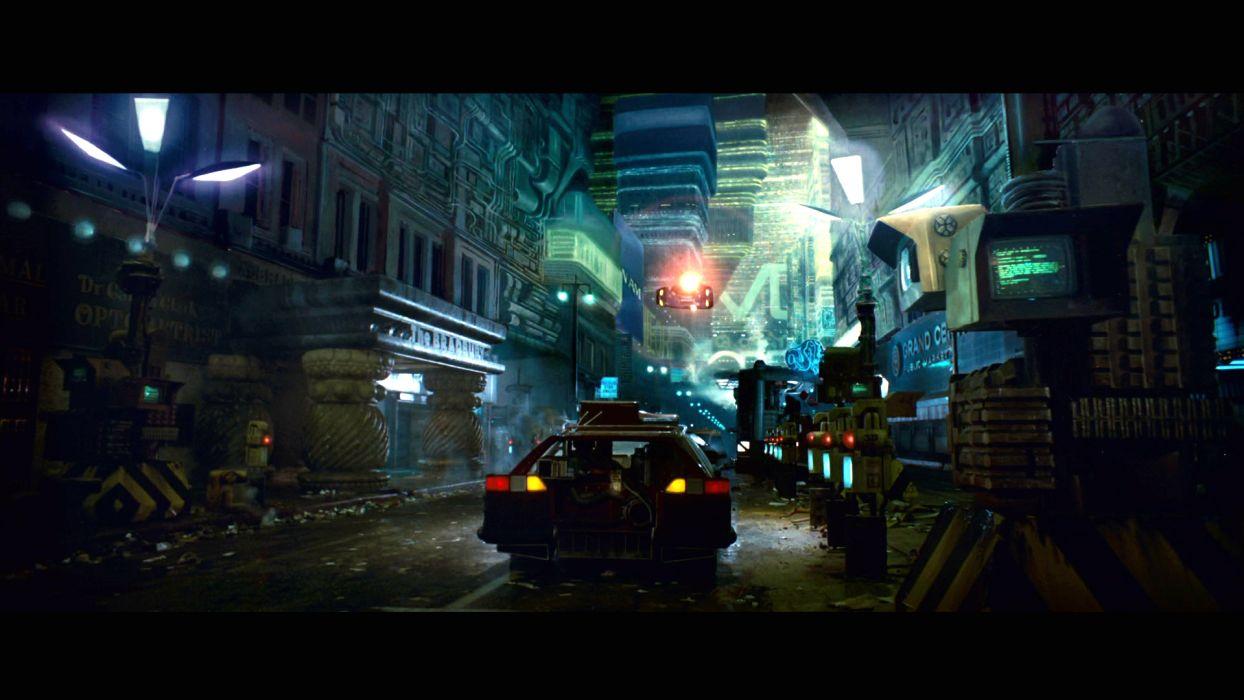 BLADE RUNNER drama sci-Fi thriller action city    fs wallpaper