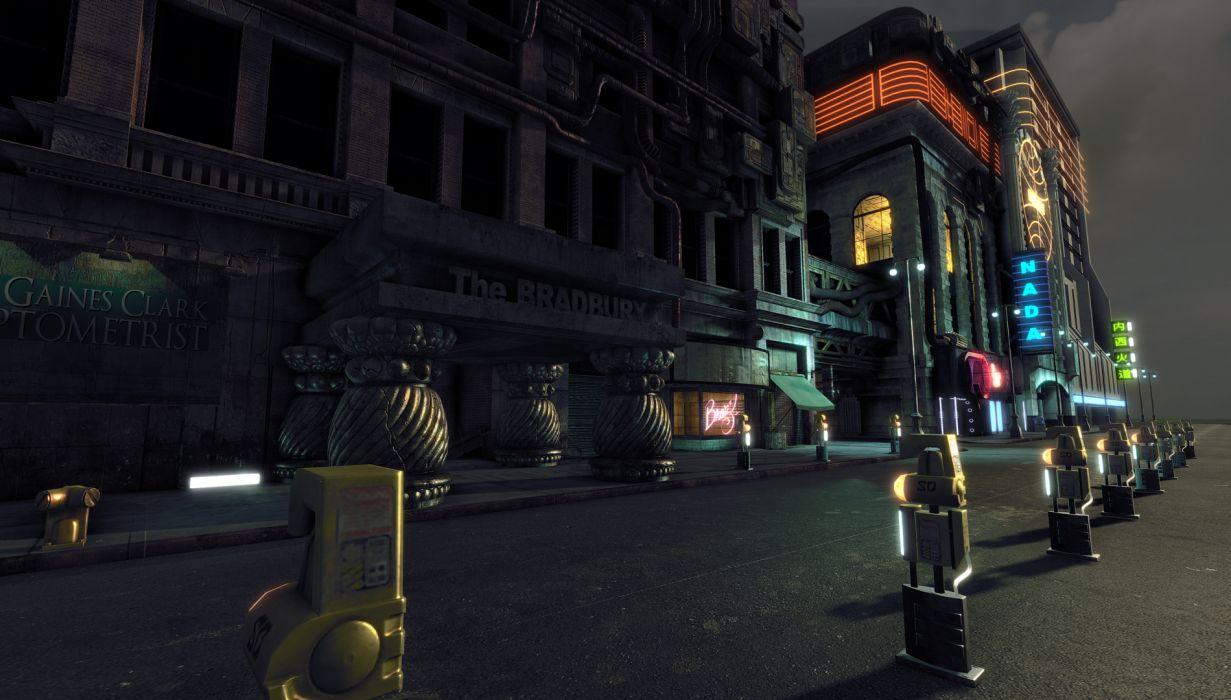 BLADE RUNNER drama sci-Fi thriller action city   jg wallpaper