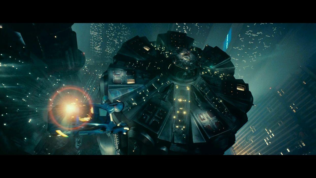 BLADE RUNNER drama sci-Fi thriller action city spaceship     fs wallpaper