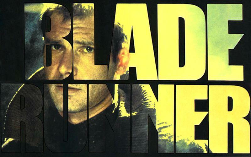 BLADE RUNNER drama sci-Fi thriller action poster fs wallpaper