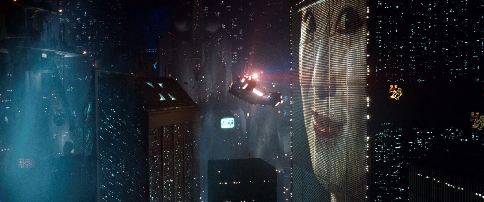 BLADE RUNNER drama sci-Fi thriller action spaceship city    g wallpaper