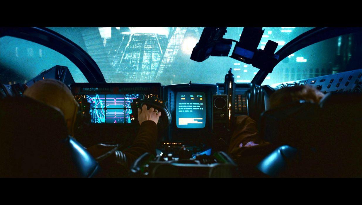 BLADE RUNNER drama sci-Fi thriller action spaceship city   et wallpaper