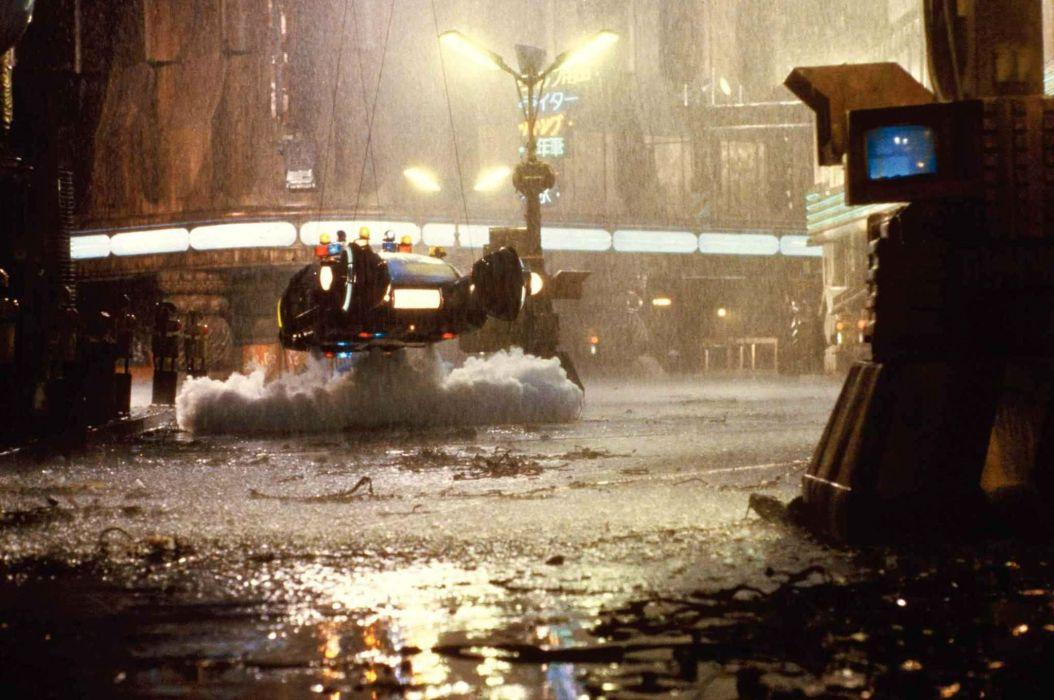 BLADE RUNNER drama sci-Fi thriller action spaceship rain    hh wallpaper