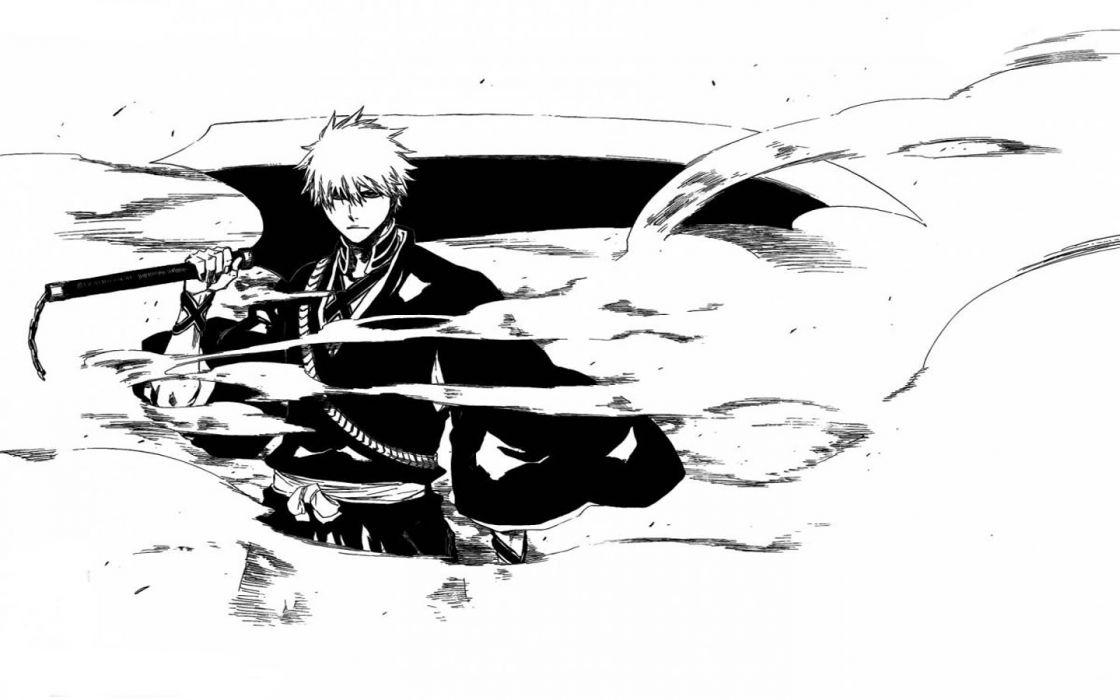 Bleach Kurosaki Ichigo Shinigami Wallpaper