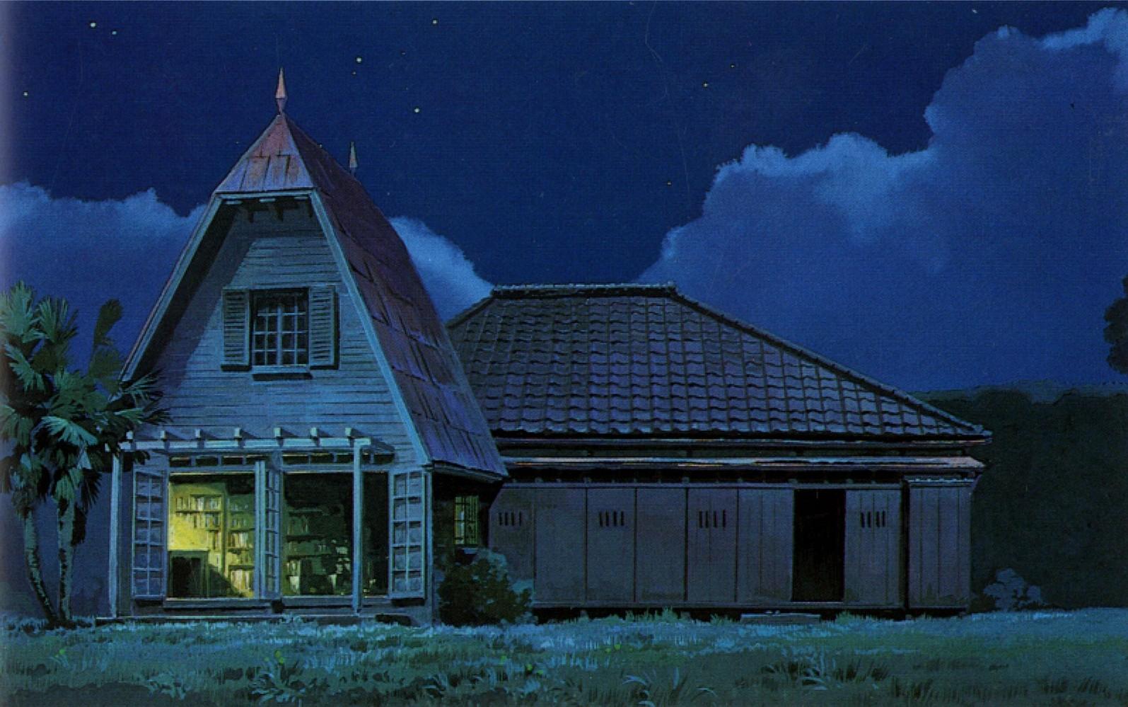 Houses My Neighbour Totoro Wallpaper 1595x999 224188 Wallpaperup