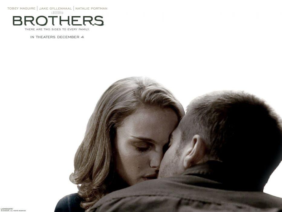 movies Natalie Portman Jake Gyllenhaal Brothers (movie) wallpaper