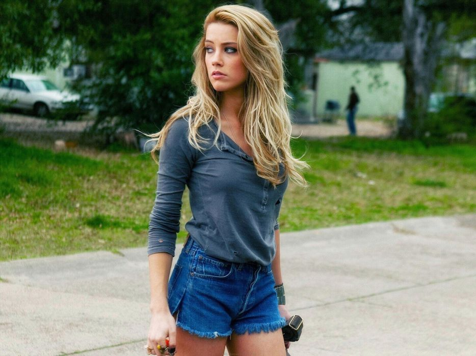 blondes women American actress models fashion Amber Heard wallpaper