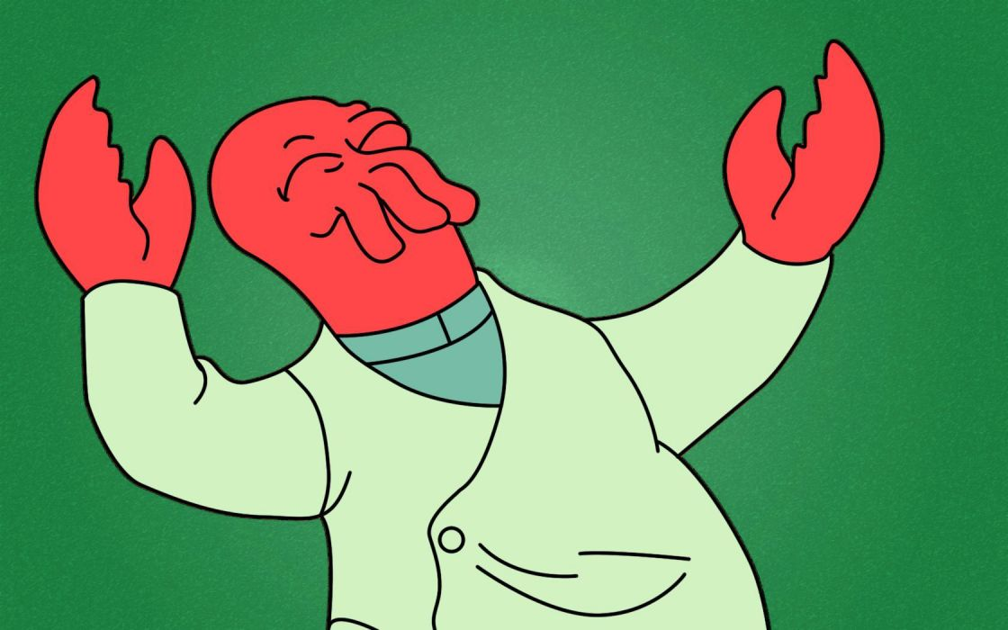 Futurama Dr Zoidberg wallpaper
