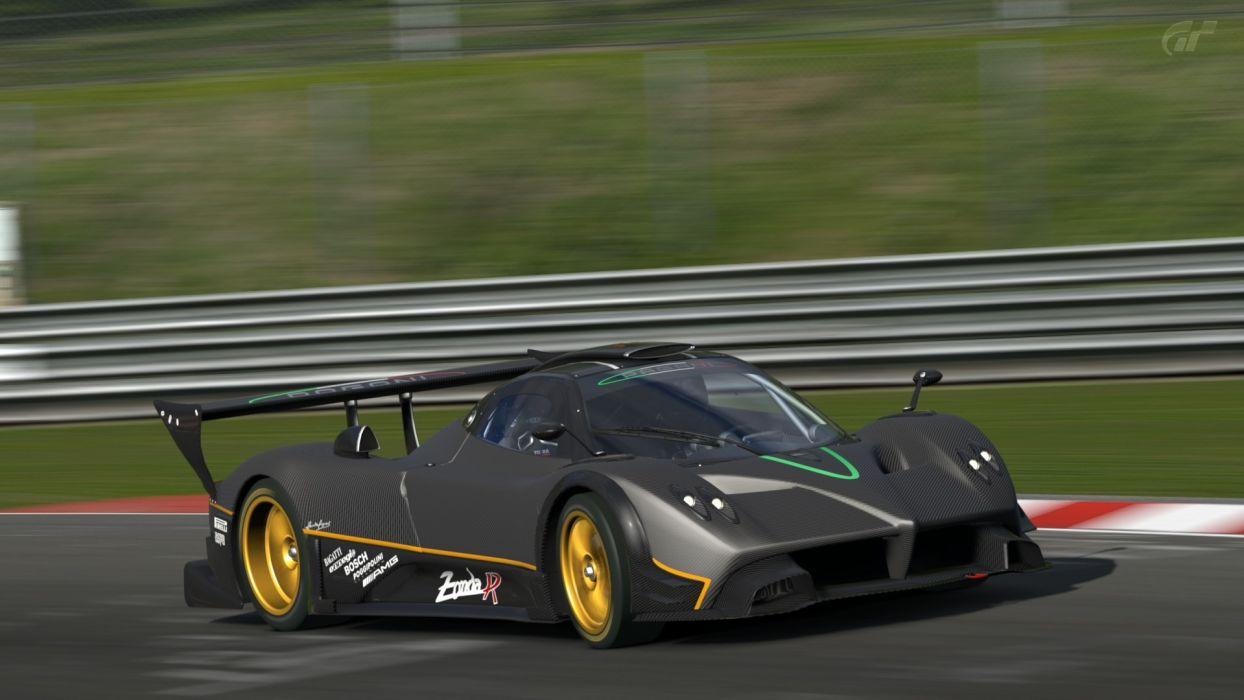 Video Cars Pagani Zonda R Gran Turismo 5 Playstation 3 Naia Wallpaper
