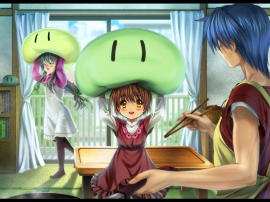Clannad After Story Furukawa Nagisa Okazaki Ushio Anime Okazaki