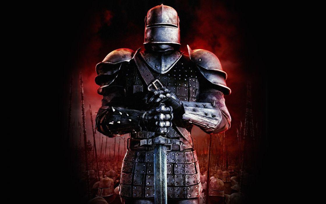 video games knights Armies of Exigo wallpaper