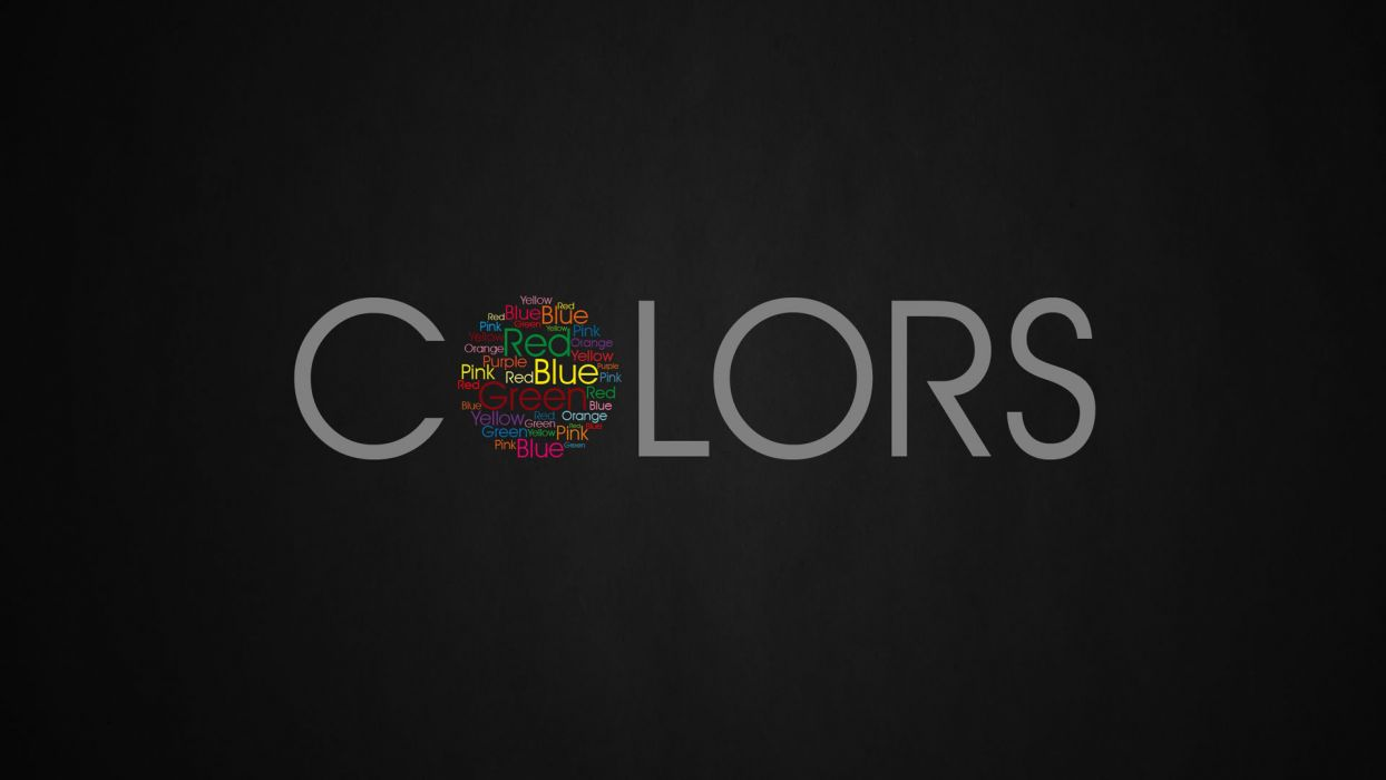 typography colors wallpaper