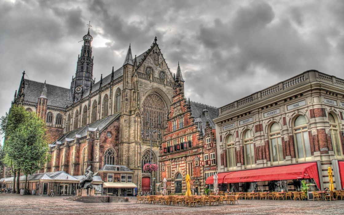 landscapes churches HDR photography wallpaper