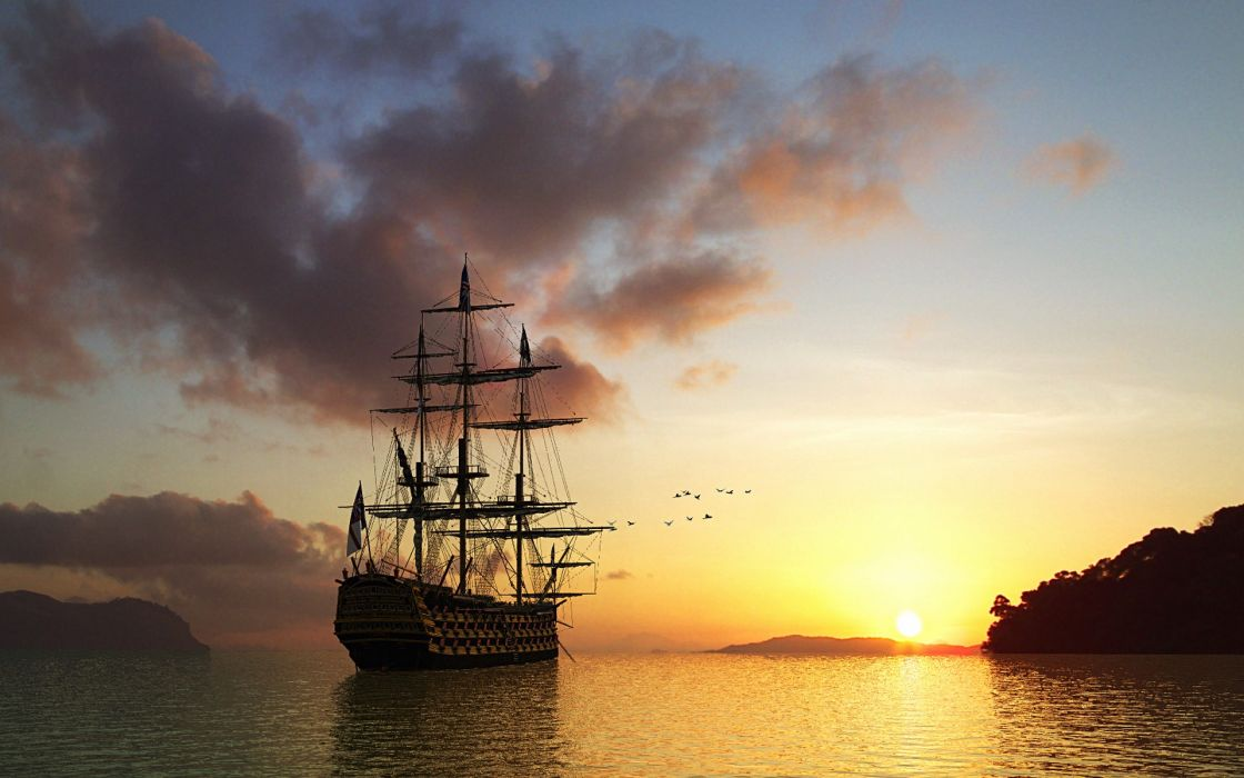 ships sail ship sails wallpaper