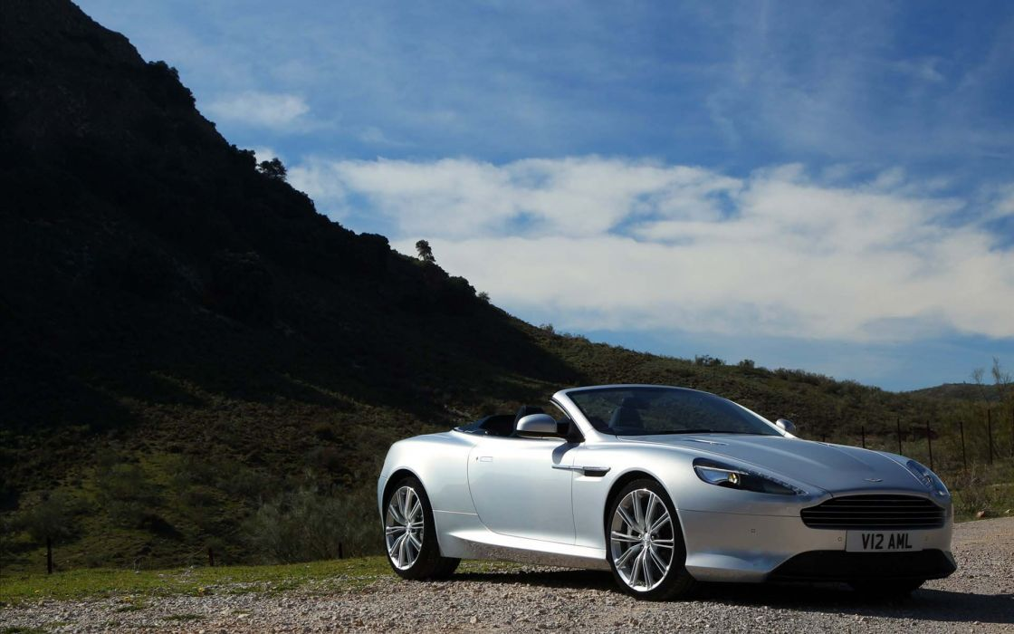 cars Aston Martin silver cars wallpaper