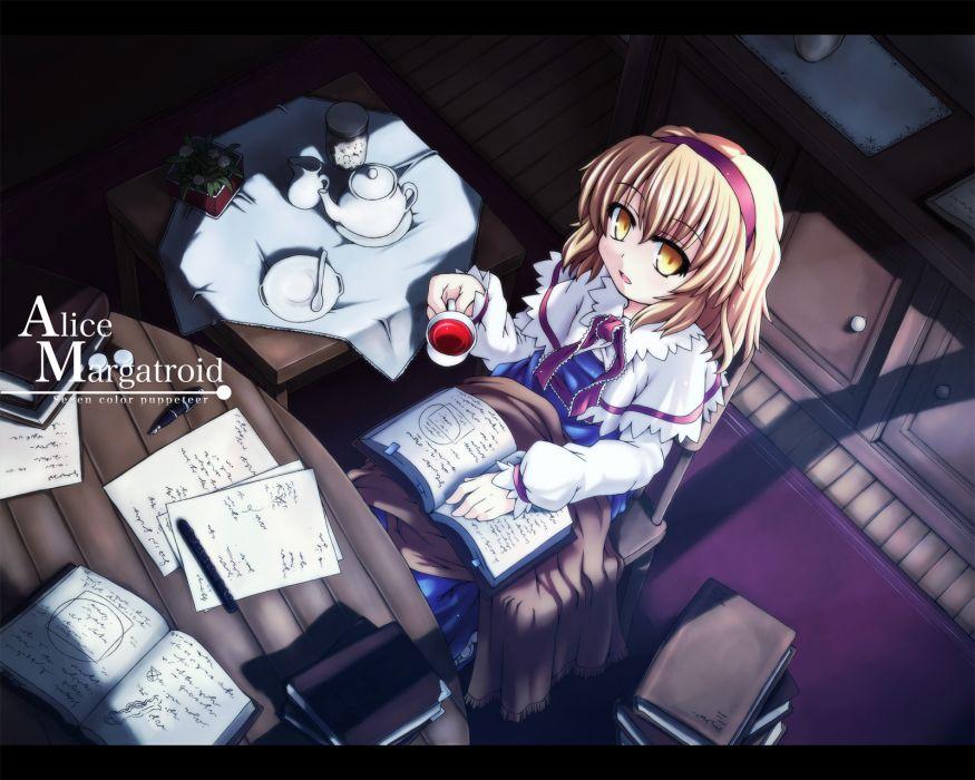 Touhou Alice Margatroid games wallpaper