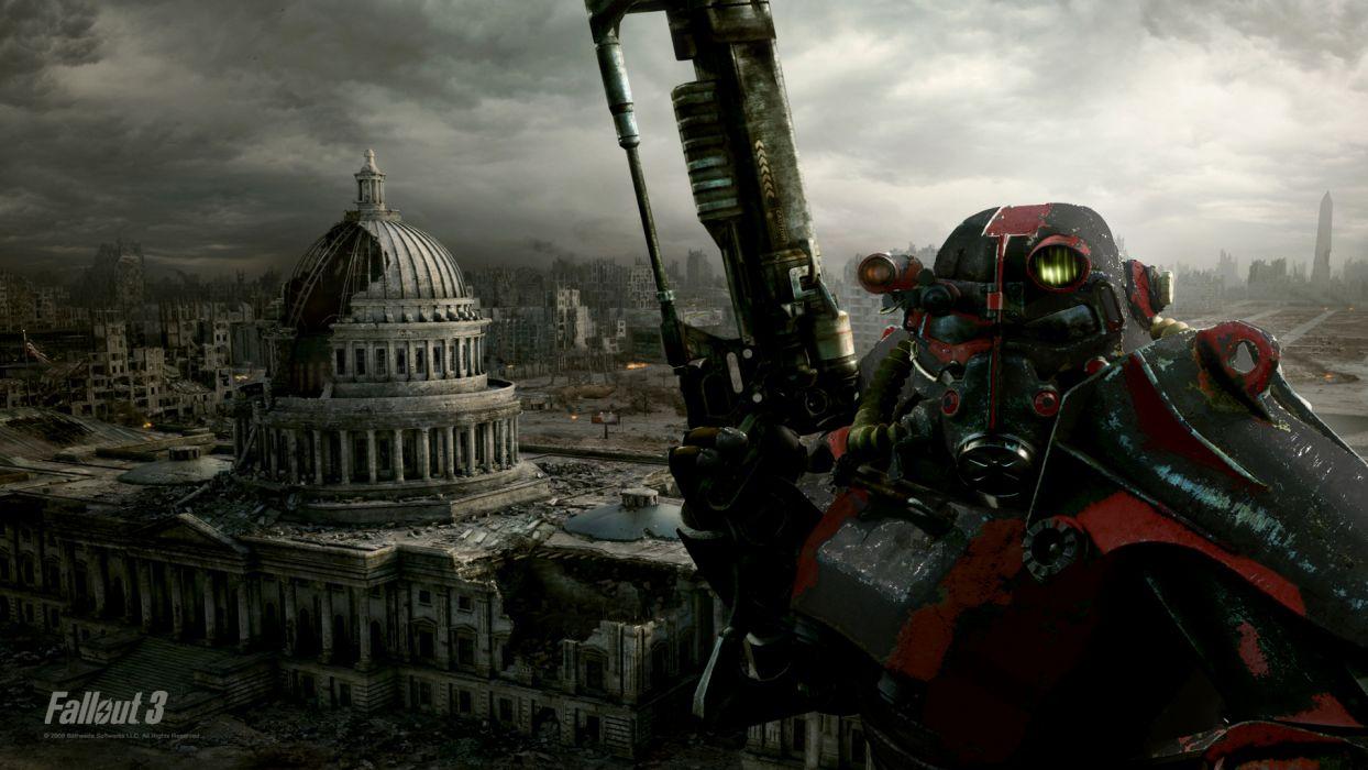 video games brotherhood outcast Fallout 3 wallpaper