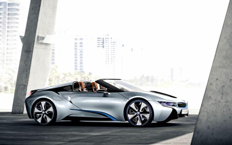 cars concept cars BMW i8 concept wallpaper