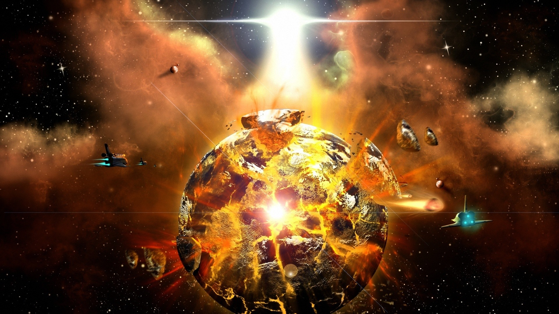 Outer space science fiction wallpaper | 1920x1080 | 224523 ...