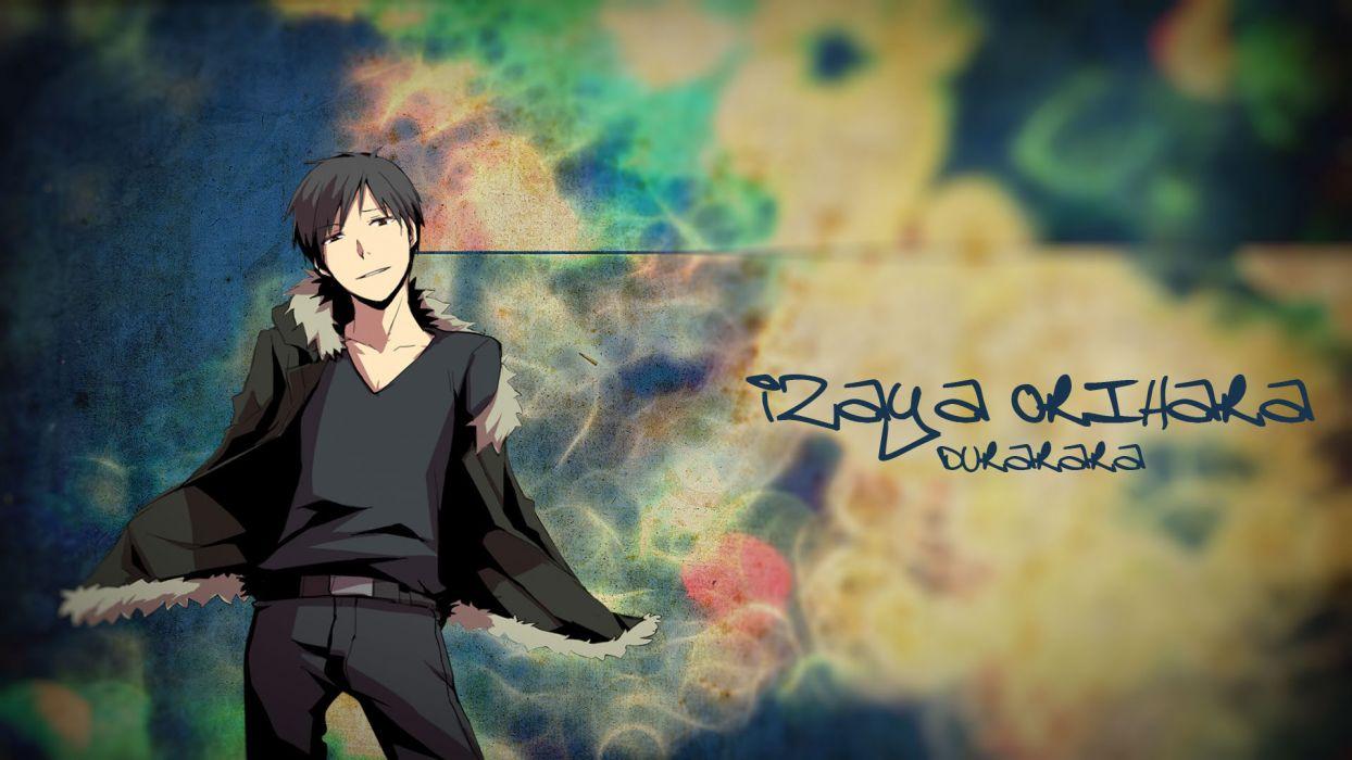 Durarara!! Orihara Izaya wallpaper