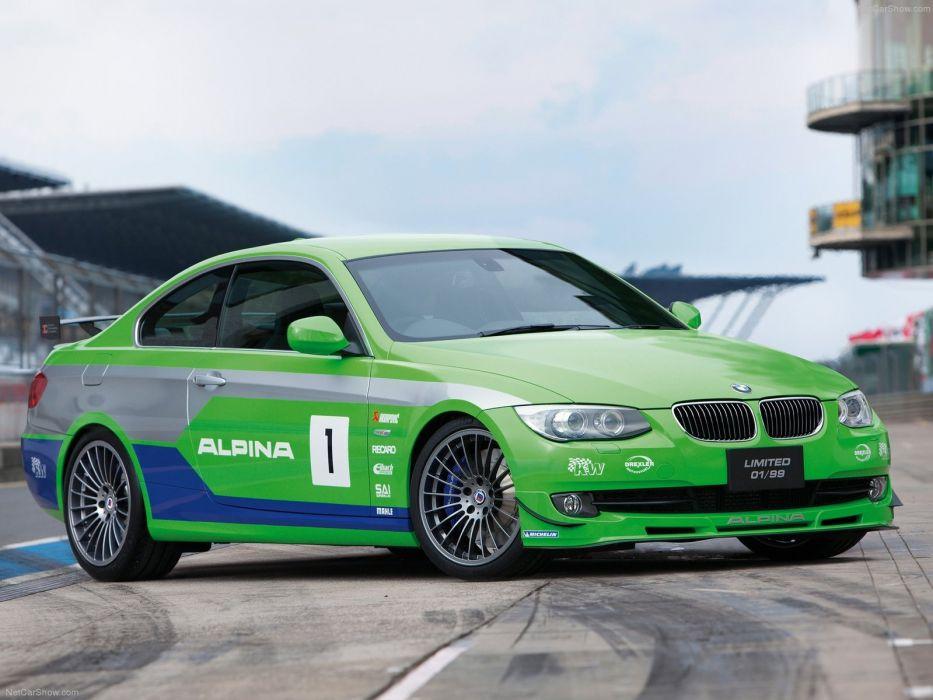 Alpina BMW B3 GT3 2012 wallpaper