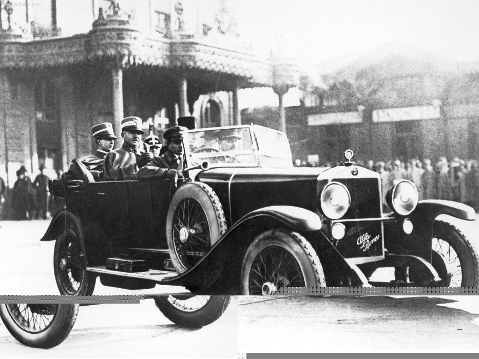 Alfa Romeo RL 1922 wallpaper
