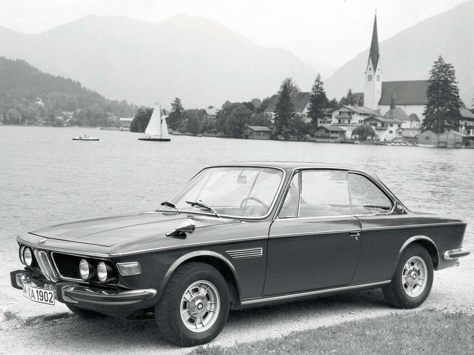 BMW 2800 CS 1968 wallpaper