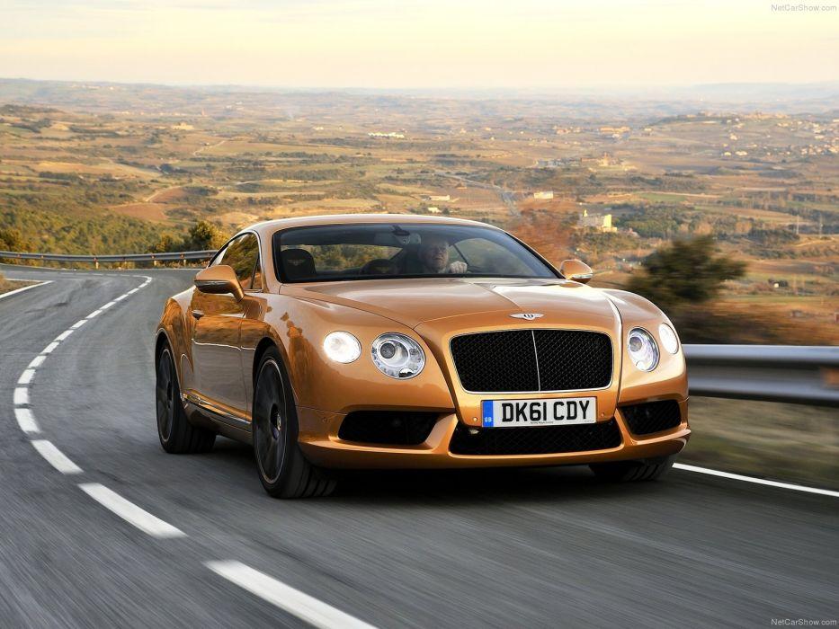 Bentley Continental GT V8 2013 wallpaper