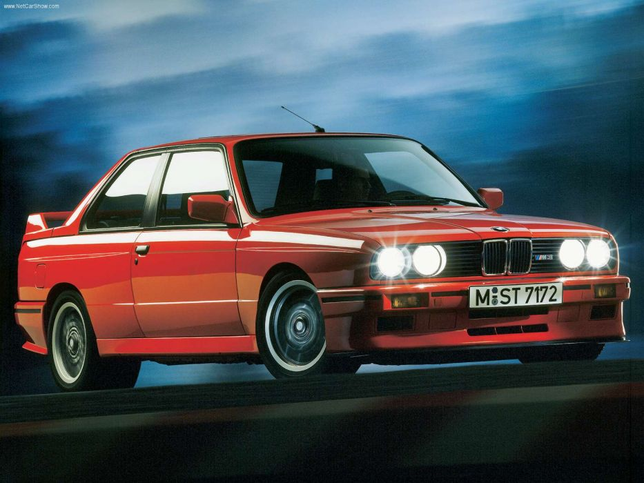 BMW M3 Evolution 1988 wallpaper