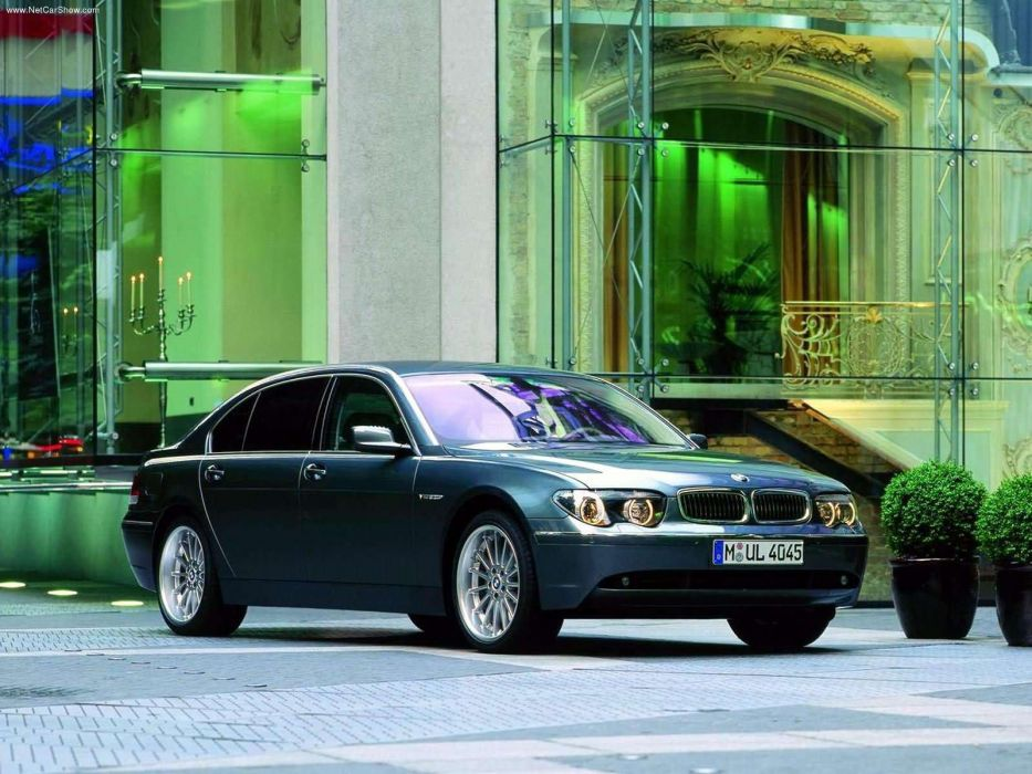 BMW 760Li E66 2003 wallpaper