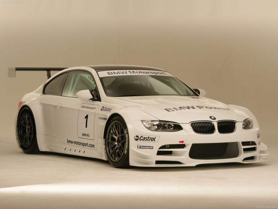 BMW M3 Race Version 2009 wallpaper