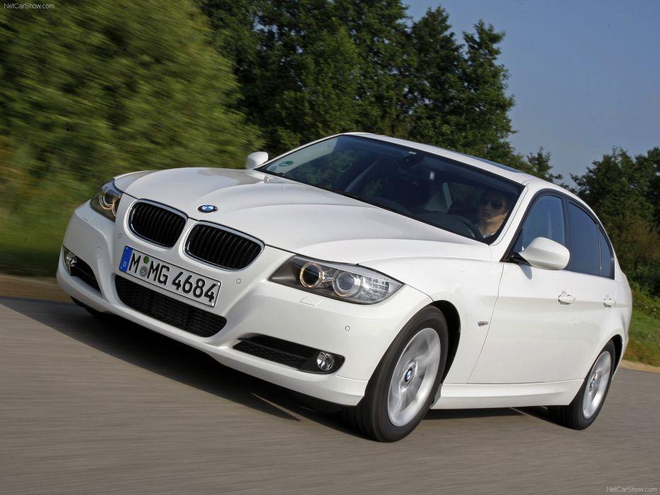 BMW 320d Efficient Dynamics 2010 wallpaper