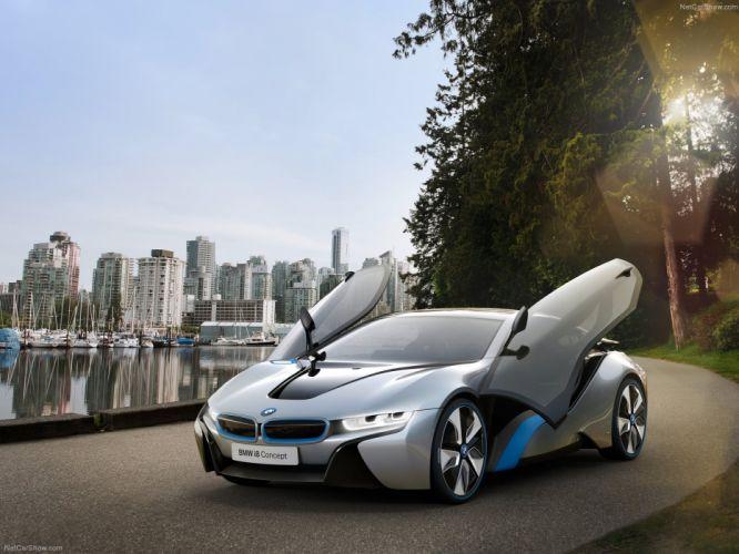 BMW i8 Concept 2012 wallpaper