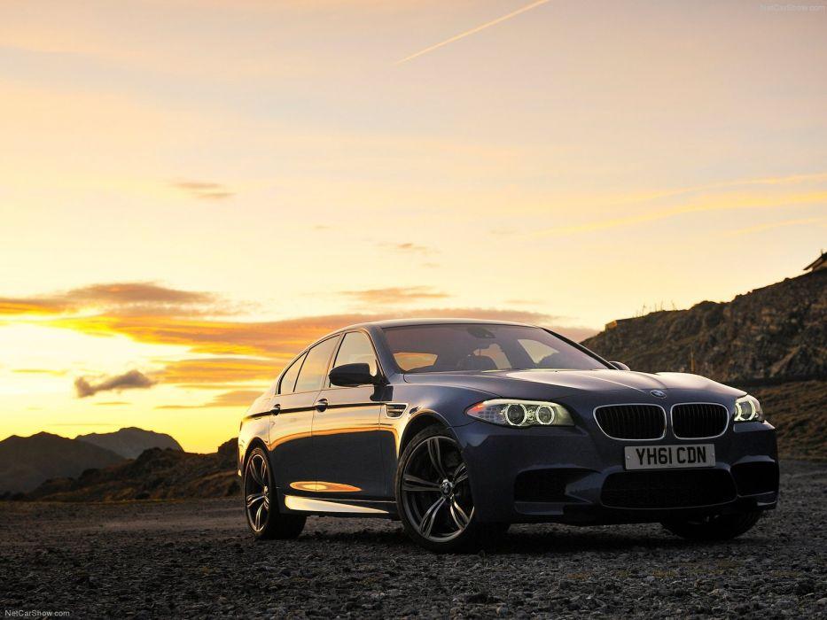 BMW M5 UK Version 2012 wallpaper