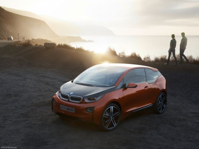 BMW i3 Coupe Concept 2012 wallpaper