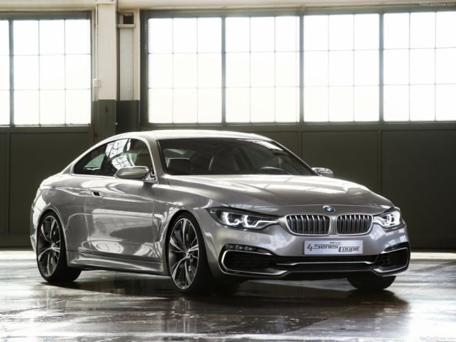BMW 4-Series Coupe Concept 2013 wallpaper
