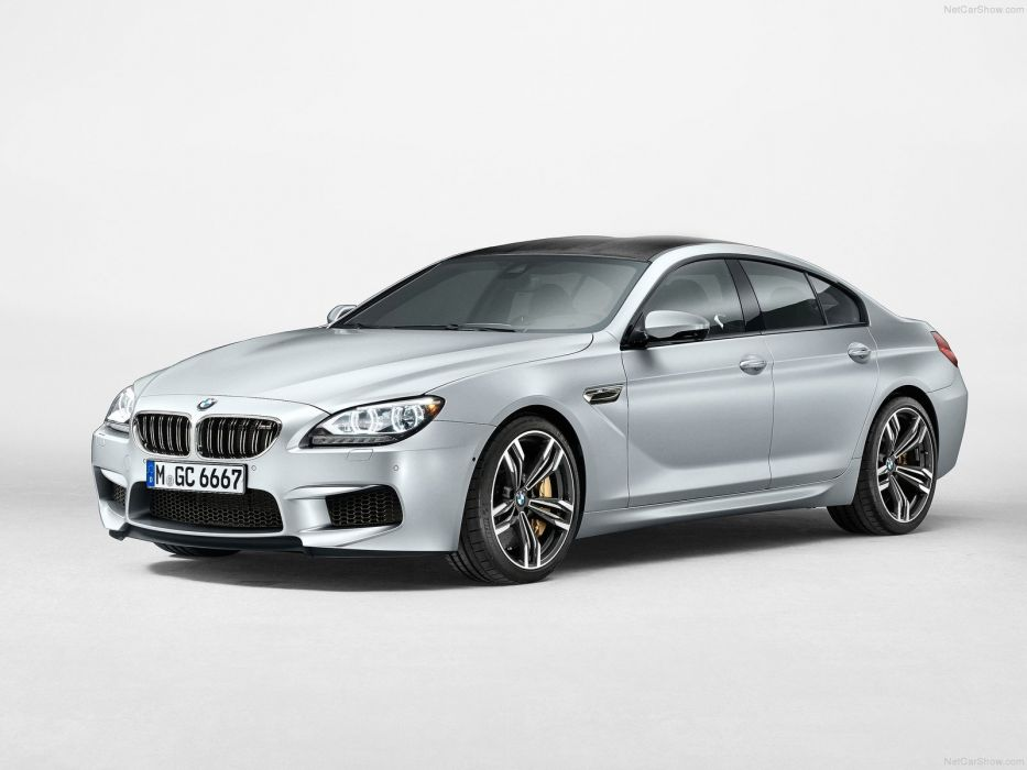 BMW M6 Gran Coupe 2014 wallpaper