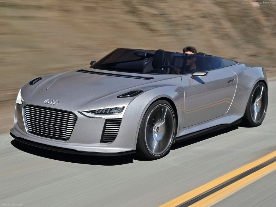 Audi e-tron Spyder Concept 2010 wallpaper