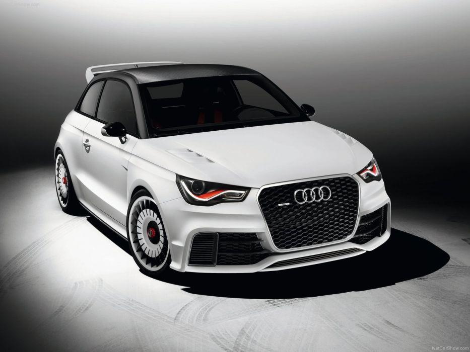 Audi A1 clubsport quattro Concept 2011 wallpaper