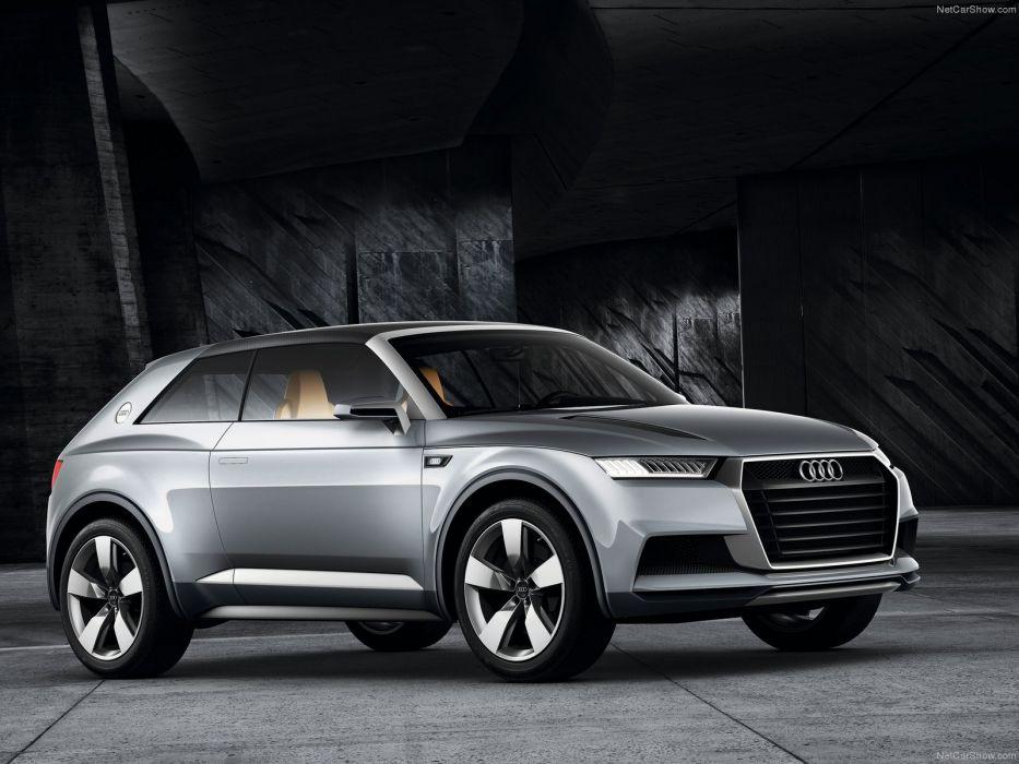 Audi Crosslane Coupe Concept 2012 wallpaper